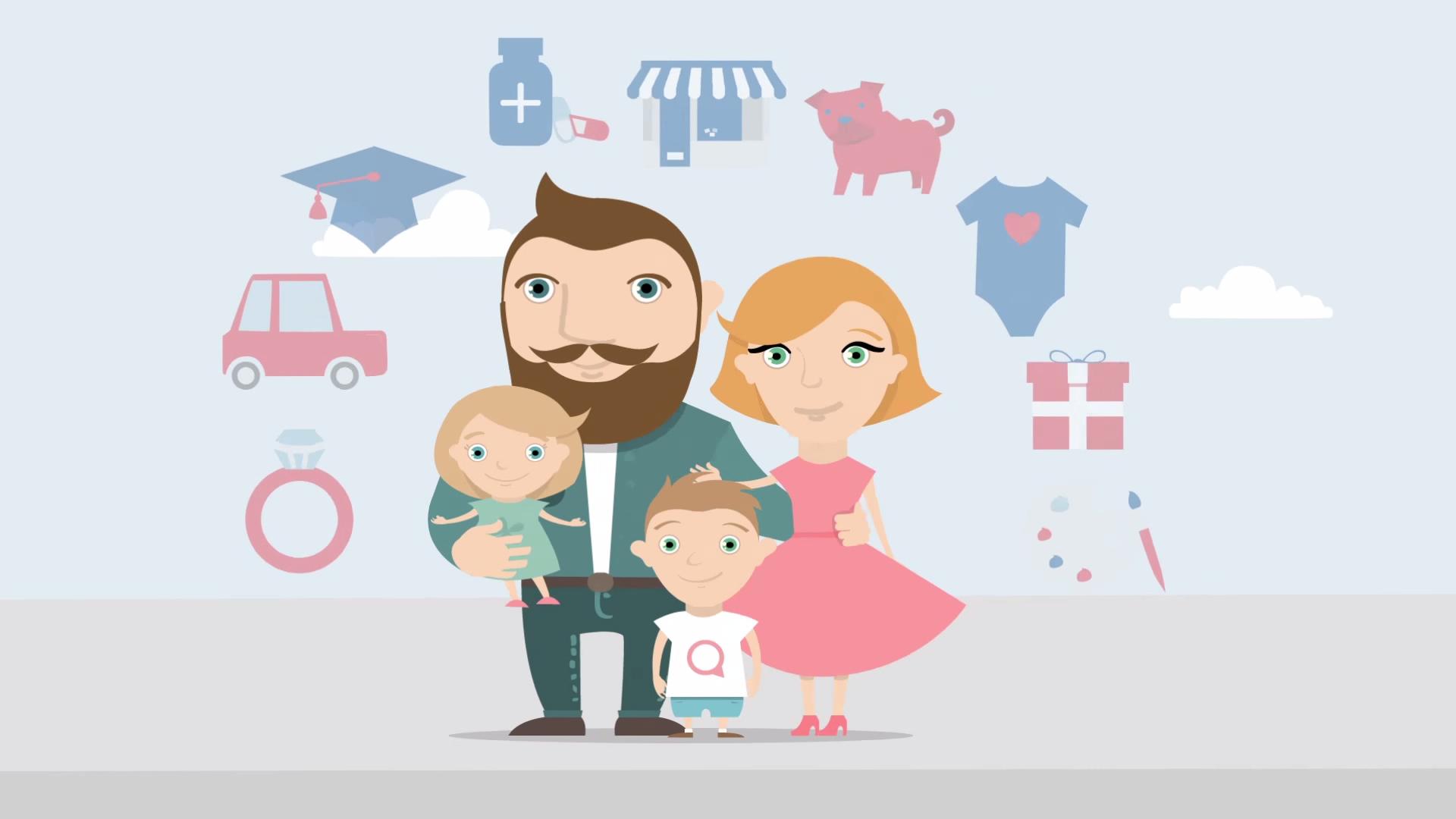 Life Insurance Animated Explainer Video